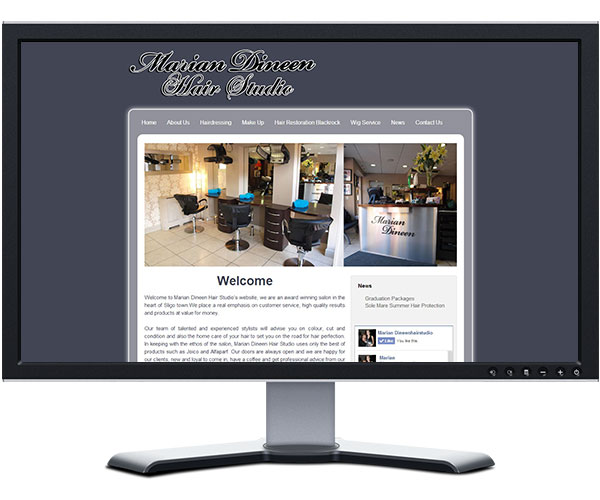 Sligo Web Solutions Website Redesign