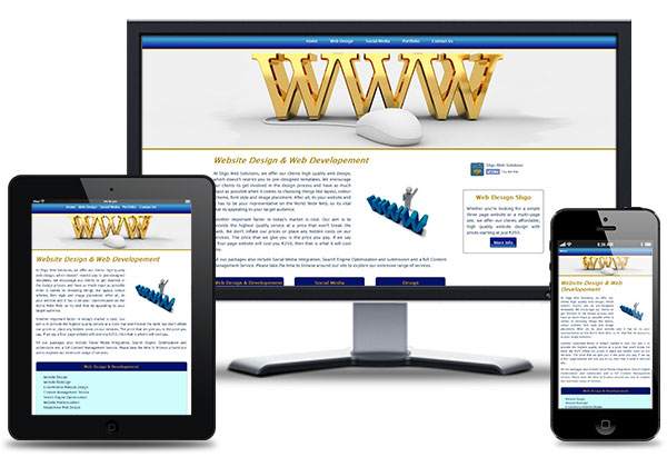 Sligo Web Solutions Responsive Web Design